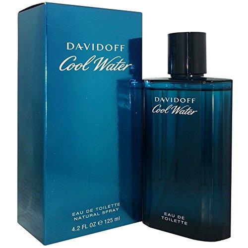 Profumo davidoff cool water eau de toilette maschile uomo 125 ml giosal -125ml