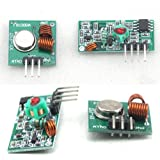 1pcs 433Mhz RF transmitter and receiver kit for Arduino project