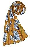 Weavers Villa Premium Poly Cotton Trendy Paisley Design Scarf, Scarves