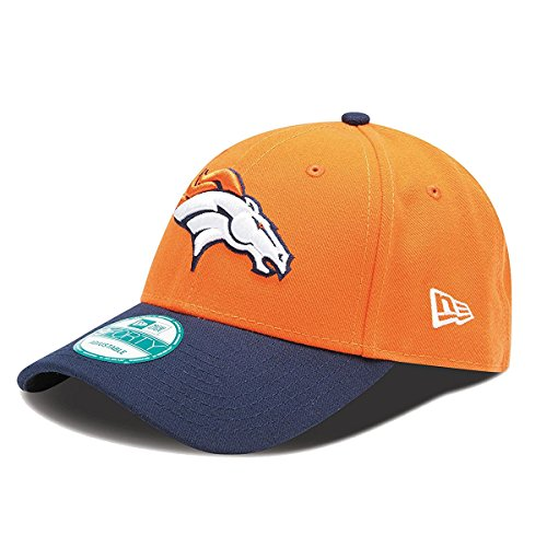 Imagen de  ajustable new era 9forty de la liga nfl seahawks, raiders, patriots, panthers, broncos, etc. azul/naranja talla única  alternativa