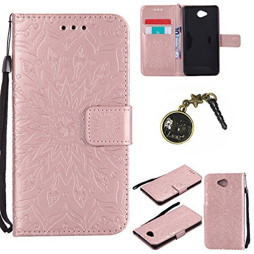 Preisvergleich Produktbild PU Silikon Schutzhülle Handyhülle Painted pc case cover hülle Handy-Fall-Haut Shell Abdeckungen für Nokia lumia 650 N650 +Staubstecker (4GG)