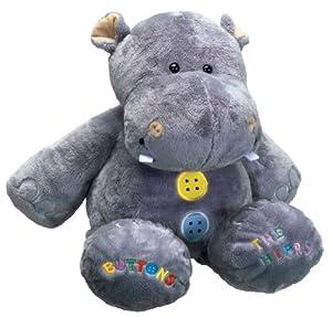 Buttons - Hipopótamo de peluche (Humatt 61256) , Modelos/colores Surtidos, 1 Unidad
