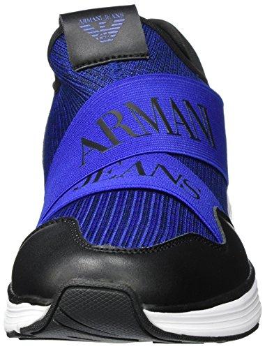Armani Sneaker Low Cut, Scarpe Basse Uomo Blau (BLU Melange)