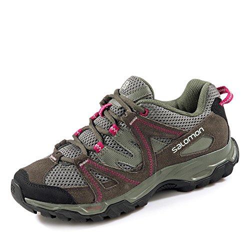 Salomon, Stivali da escursionismo donna Grau