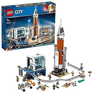 LEGO City RazzoSpazialeeCentrodiControllo, Set Spedizione su Marte,Giocattoli per Bambini Ispirati alla NASA, con Minifigure di Astronauti, Scienziati e Robot, 60228 5702016370485 LEGO