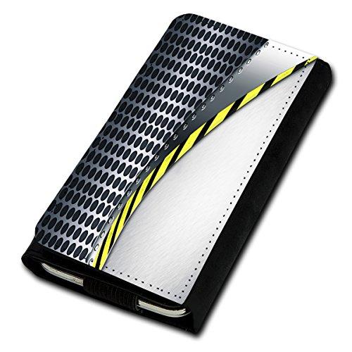 Book Style Flip Handy Tasche Case Schutz Hülle Foto Schale Motiv Etui für Phicomm Passion - Flip U1 Design12