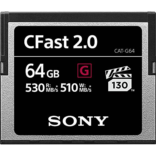 Sony 64 GB CFast 2.0 Professional Flash-Speicherkarte Sony Digital Still Camera