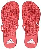 adidas Damen Eezay Soft Dusch-& Badeschuhe, Mehrfarbig real Coral/Footwear White 0, 39 EU
