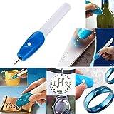 Grabador electrico para manualidades pirograbado personalizaciones cristal plastico metal de OPEN BUY