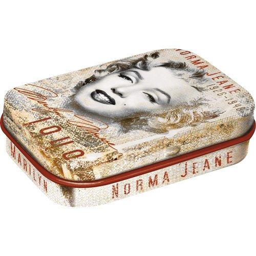 Nostalgic-Art 81226 Celebrities - Marilyn - Portrait-Collage, Pillendose