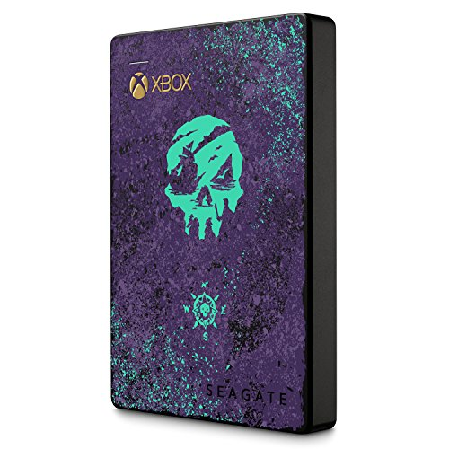 Seagate Game Drive für Xbox Sea of Theives Edition 2 TB externe tragbare Gaming Festplatte (6,35 cm (2,5 Zoll), inkl. 1 Monat Gamepass und In-Game Item) -