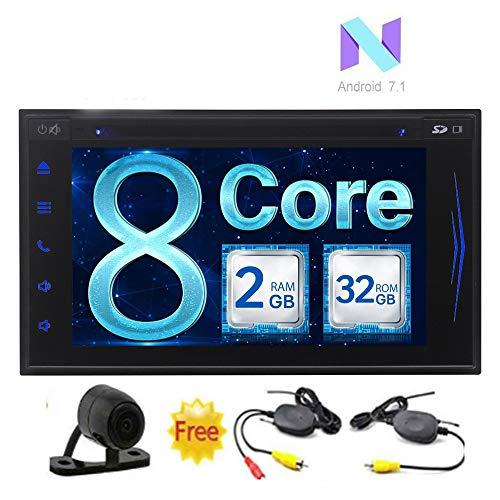EINCAR Android 7.1 Nougat Octa-Core-Multi-Language Autoradio Doppel-DIN-GPS-Auto-Stereo Naviagtion kapazitiver Touch Screen Bluetooth WiFi Radio FM/AM RDS Recevier Unterstützung 3G / 4G USB SD + Wi