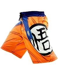 Razorstorm der Saiyan Pantalones cortos de entrenamiento para hombre de color naranja, hombre, naranja, 38