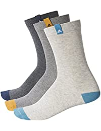 adidas Calcetines Crew Tf 2 multicolor/blanco talla: 43 al 46 EU I 9-11.5 USA I 8.5-11 UK 7KaeR3Bsx