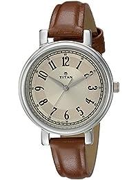 Titan Analog Multi-Colour Dial Women's Watch -NK2554SL01