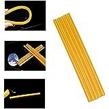 Weylon Conjunto 5 piezas 11 milímetro 295 * millimeter altura-coloquen amarillo pegamento termofusible Paintless herramientas de reparación de abolladuras