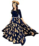Sanjana Collection Women's Net Lehenga_c...