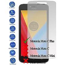 Protector de Pantalla Cristal Templado Vidrio para Motorola Moto C Plus 4G 5.0 - Todotumovil