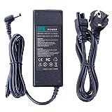 DTK Chargeur Adaptateur Secteur pour ASUS: 19v 4.74a 90w (75w, 65w compatibles) Connecteur: 5.5*2.5mm Alimentation pour ordinateur portable