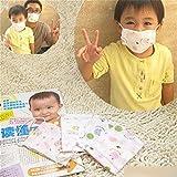 5 X Weich Anti-Sand Säuglingsbaby Mund Muffel Gaze-Maske Zufällige Farbe