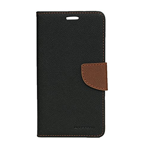 SDO™ Textured Mercury Goospery Flip Cover Case [with Card/Cash Holder] for Lenovo Vibe K5 Note (Brown)