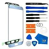 MMOBIEL Front Glas Reparatur Set für Samsung Galaxy S7 Edge G935 (Blau) Series Display mit 11 TLG. Werkzeug-Set