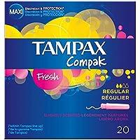 Tampax Compak Applikator Tampons Frische Regular (20) - Packung mit 2 preisvergleich bei billige-tabletten.eu