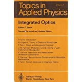 Integrated Optics (Topics in Applied Physics)