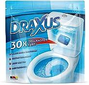 DRAXUS 30x Spülkasten Tabs I Wasserkastenwürfel für den Spülkasten im Vorratspack I WC Tabs färben das Wasser
