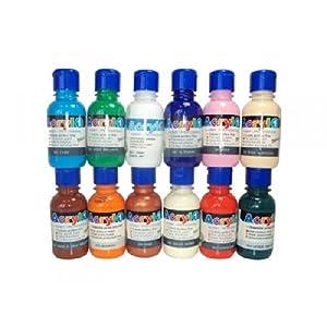 PRIMO 402TA125500 125ml Azul Botella Botella - Pintura acrílica (Azul, Botella, Transparente, 125 ml, Botella)