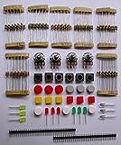 Paquete General De Componentes Electrónicos Llevaron Transistores Condensadores Protoboard