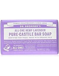 Dr Bronner's Organic Lavender Soap Bar 140g