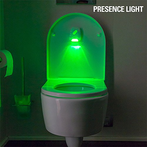 Presence Light toiled Kontrolllampe, weiß, 7x 2x 9cm