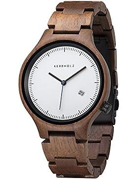 Kerbholz Herren-Armbanduhr 4251240401171