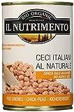 Probios - Il Nutrimento Ceci Italiani al Naturale - 12 confezioni da 400 gr