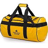 Borsone da Viaggio e Sport Convertibile in Zaino - Duffel Bag - The Friendly Swede (Giallo 60L)