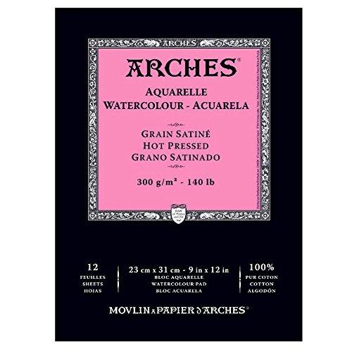 arches-aquarelle-bloc-12-feuilles-300-g-grain-satin-23-x-31-cm-blanc-naturel