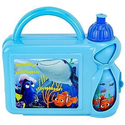 Disney Pixar Finding Dory Fiambrera Estuche Rígido con Botella, Multicolor por Disney