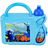 Disney F106307 Pixar Finding Dory Hard Case Lunch Box with Bottle