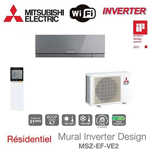 MURAL INVERTER DESIGN MITSUBISHI MSZ-EF35VE2S