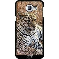 Custodia per Samsung Galaxy A8 2016 (SM-A810) - Gatto Leopardo Tigre Leone by WonderfulDreamPicture