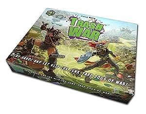 Trash War - Fun, Family Friendly Card Game of Medieval Junkyard Combat by Gangrene Games