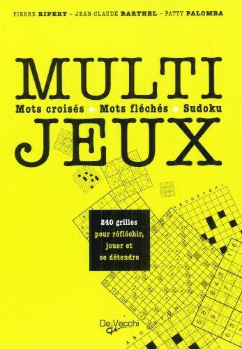 Multi-jeux : Mots croisés, mots fléchés, sudoku par Pierre Ripert