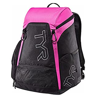 TYR Unisex's Alliance Backpack, Black/Pink, Medium/30 Litre