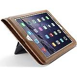 Funda de piel CaseMe para iPad Air 2. Marrón