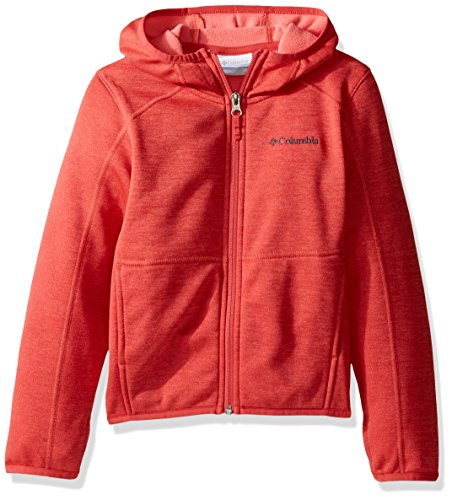 Columbia S'more Adventure Full Zip Hoodie Youths Sunset red Heather Gr??e XS 2017 Midlayer Red Youth Hoodie