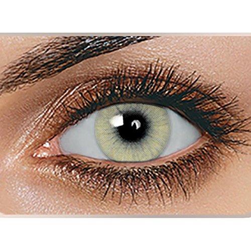 Swiftt Farbige Kontaktlinsen 1 Paar(2 Stück) Ohne Stärke - Verschiedene Farben – Jahreslinsen - Durchmesser: 14.50mm - Krümmungsradius: 8.60° - Wassergehalt: 38{4802481f22c9fdbcaf03f70aa6cf796f3325303803f34fbe556c1e1425421dc4} - Angenehm zu Tragen