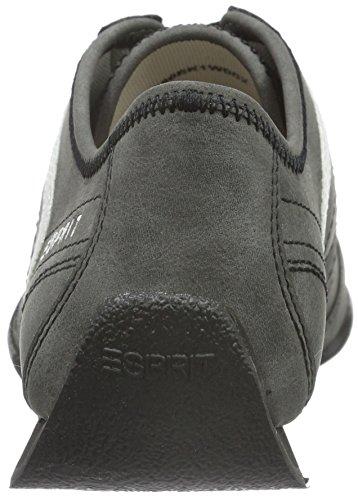 Esprit Jay Lace Up, Baskets Basses Femme Noir (001 black)