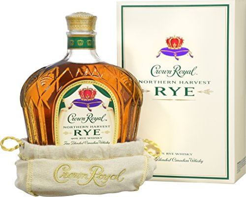 Crown Royal Northern Harvest Rye Whisky - World Whisky of the Year in Jim Murrays Whisky Bible 2016 - Amber Kings Crown