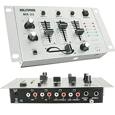 PA Anlage Boxen MP3 USB SD 3000W Endstufe Mixer Funkmikrofonset DJ-712 von etc-shop auf Reifen Onlineshop